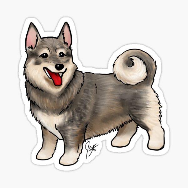 Swedish Vallhund Sticker