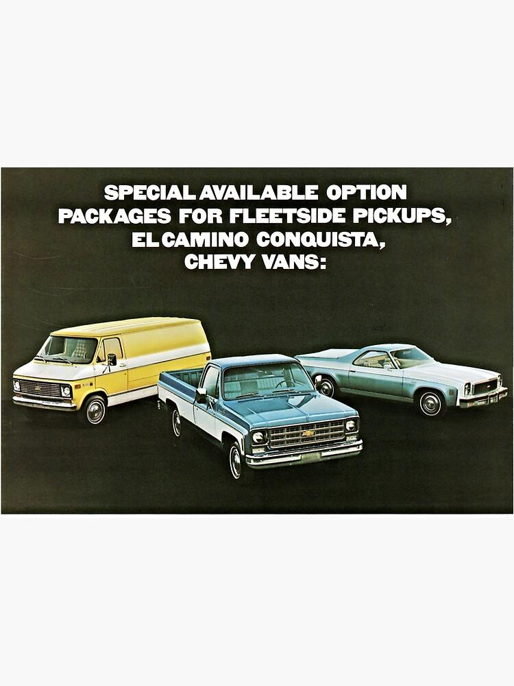 Chevrolet Truck Bonanza Program Models advertisement 1977 by liesjes