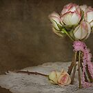 Vintage Rose Bouquet by Maria Dryfhout