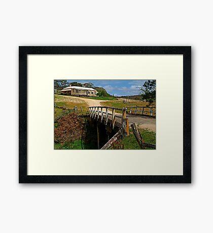 Steiglitz, Historic Gold Mining Town Framed Print