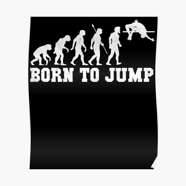 Born To Jump Evolution Ski Jumping Unisex Belt Bag For Leisure Sports Travel Hiking Jogging
