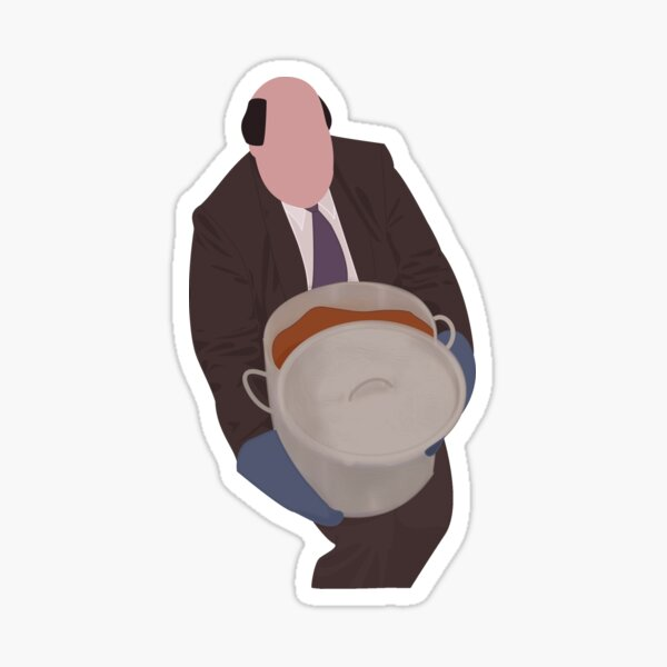 Kevins Famous Chili - The Office Sticker