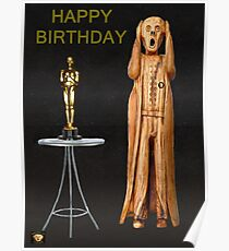 The Scream World Tour Oscars Happy Birthday  Poster