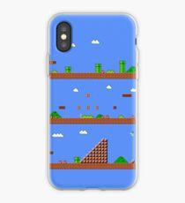 Super Mario Bros World 1-1 iPhone Case