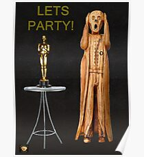 The Scream World Tour Oscars Lets Party Poster