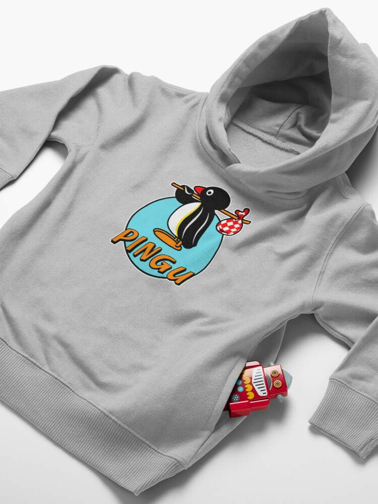 Alternate view of Pingu - TV Shows Toddler Pullover Hoodie