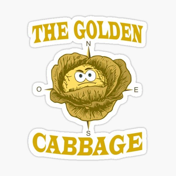 The Golden Cabbage - Movie Parodie Sticker