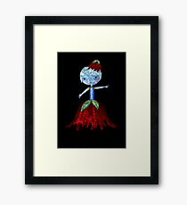 Be patience. Everybody is looking for you. Framed Print