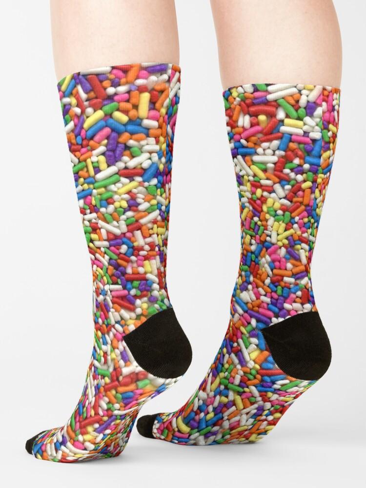 Alternate view of Rainbow Sprinkles Socks