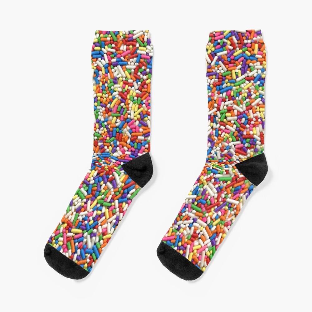 Rainbow Sprinkles Socks