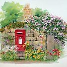 Village Postbox by Ann Mortimer