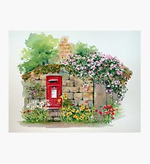 Village Postbox Photographic Print