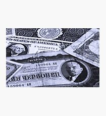 Economics Photographic Print
