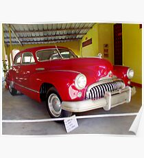 1947, BUICK Eight Super, USA Saloon Poster