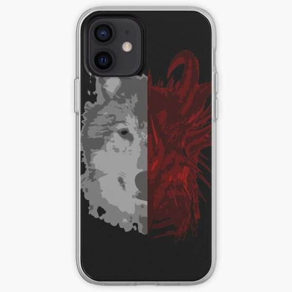 The Wolf and the Dragon iPhone Soft Case