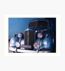 1938, Packard (Limo), USA, SEDAN  Art Print