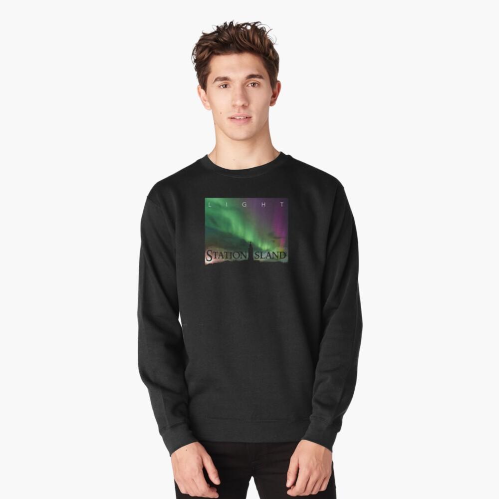 Station Island - Light Album Cover Pullover Sweatshirt
