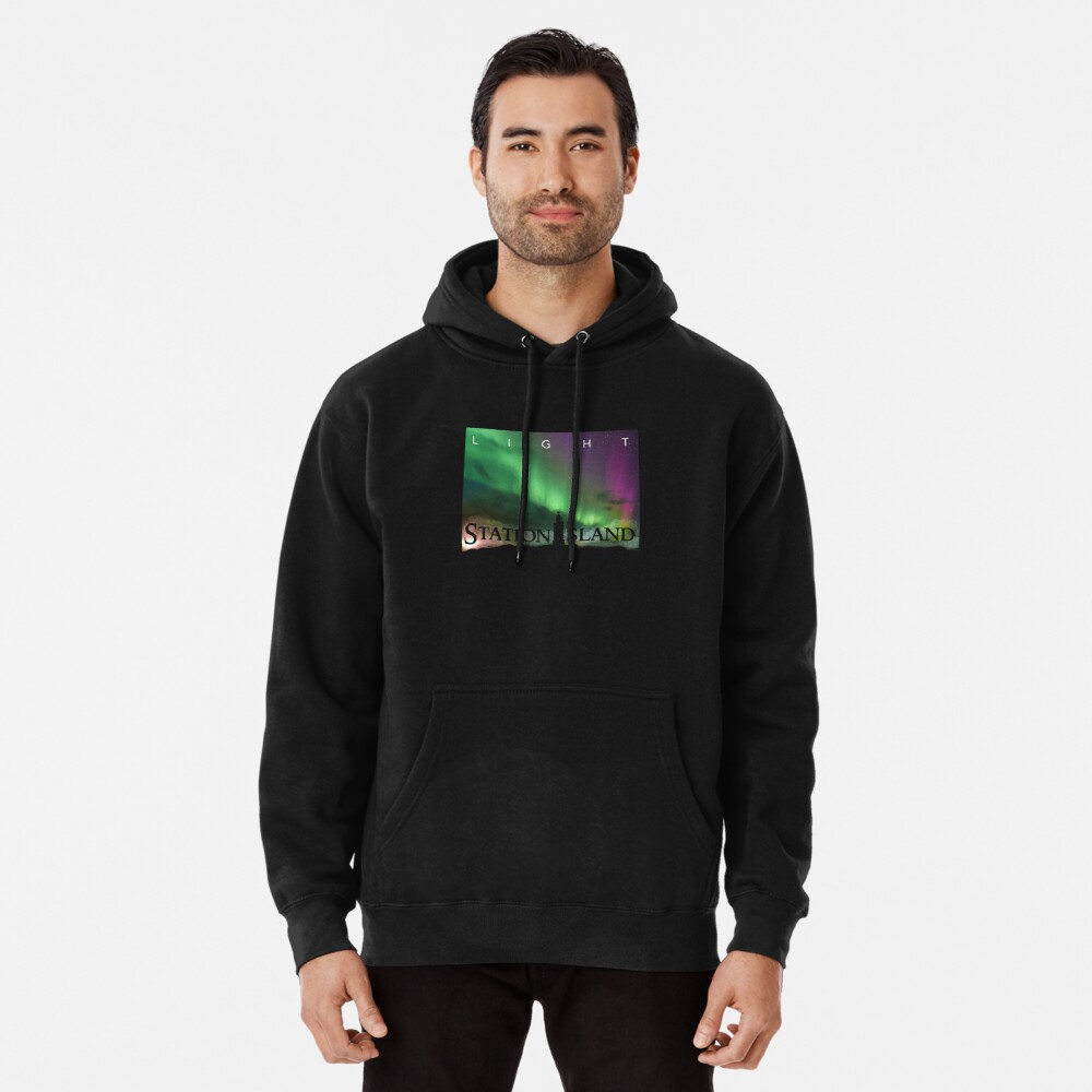 Station Island - Light Album Cover Pullover Hoodie