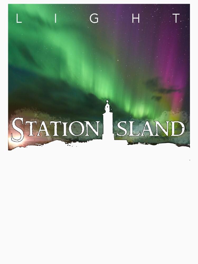Station Island - Light Album Cover by StationIsland