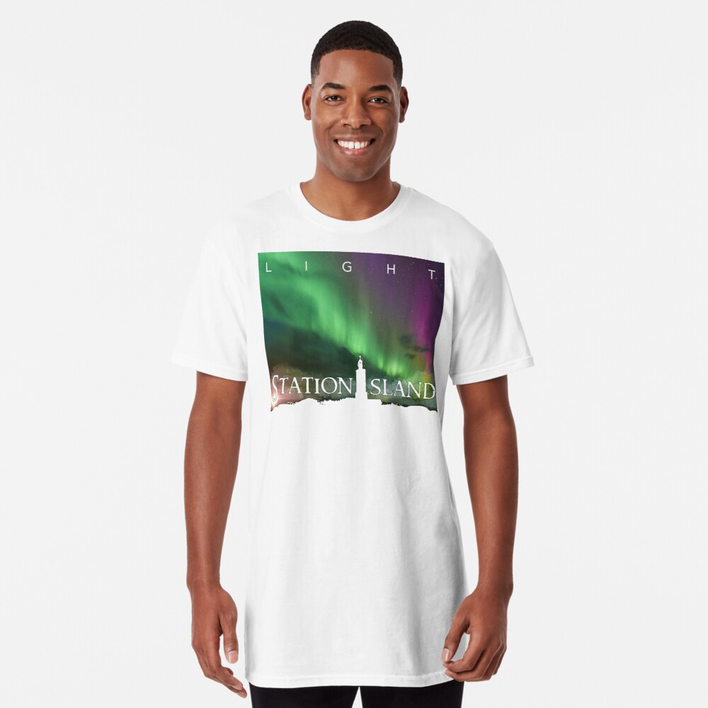Station Island - Light Album Cover Long T-Shirt