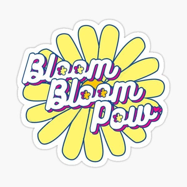 Bloom Bloom Glossy Sticker
