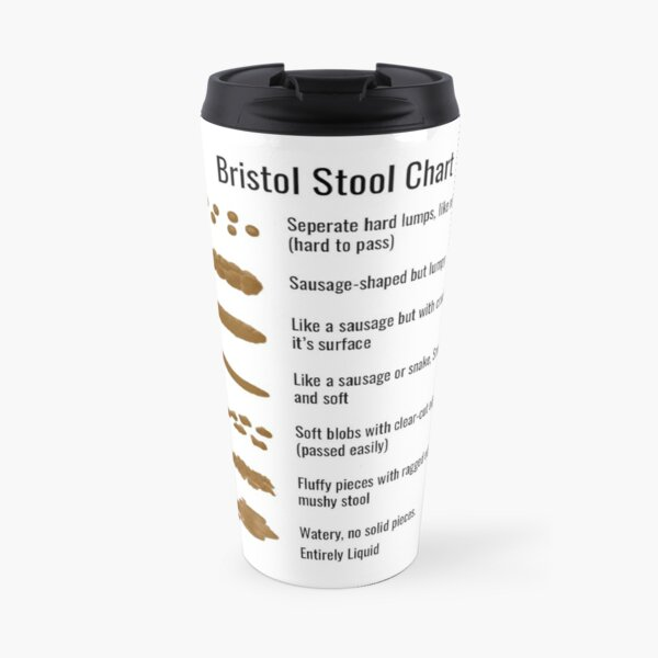 Bristol Stool Chart Travel Mug