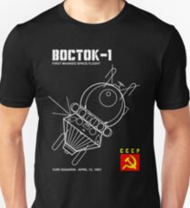 Vostok 1 Russian Spacecraft T-Shirt