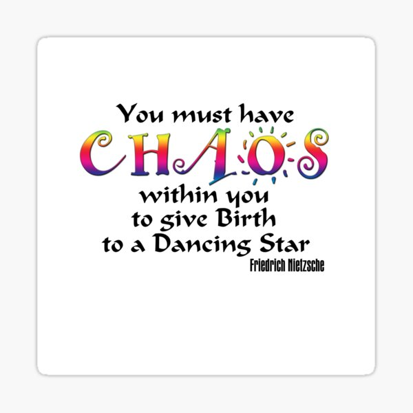 You must have Chaos Sticker