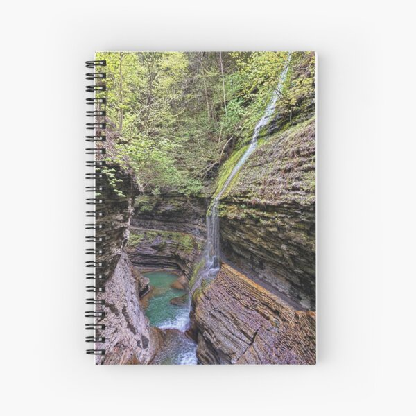 Watkins Glen, NY Spiral Notebook