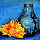 blue pot by agnès trachet