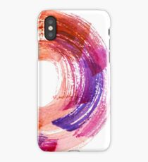 Abstract Watercolor Stroke  iPhone Case