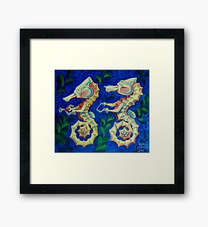 Tandem Framed Print