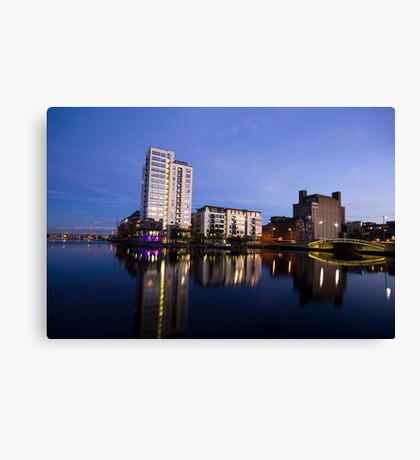 Grand Canal Dock Canvas Print
