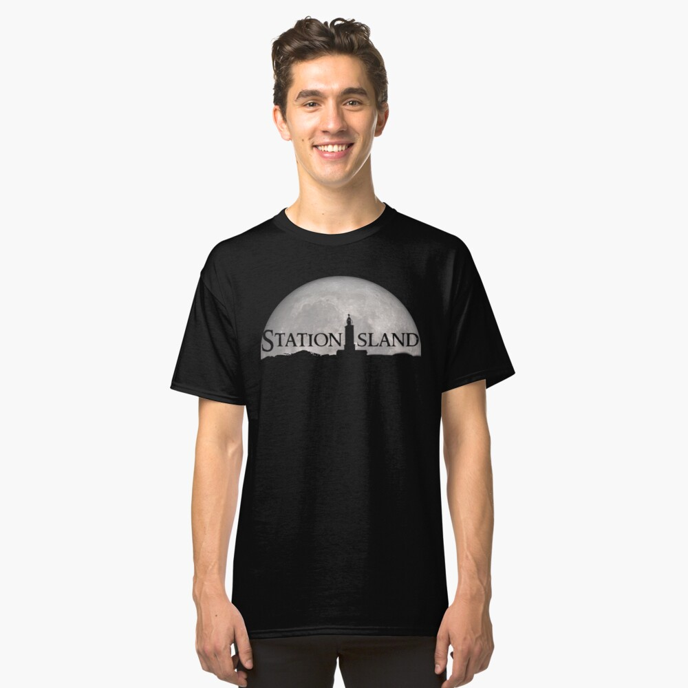 Station Island - Moon Design Classic T-Shirt