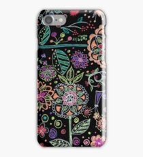 Folk Art Flowers iPhone Case/Skin