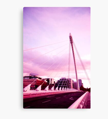 Samuel Beckett Bridge Canvas Print