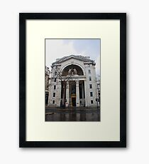 Bush House (BBC)  London, UK Framed Print