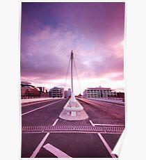 Samuel Beckett Bridge Poster