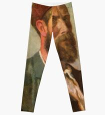 Theodor Kittelsen selvportrett Leggings