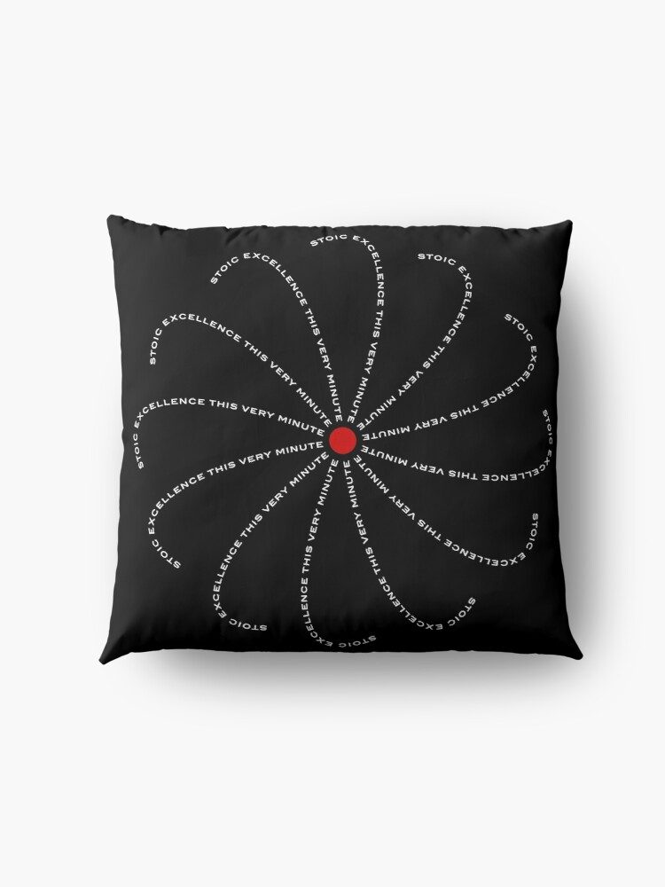 Alternate view of Stoic Excellence This Very Minute Floor Pillow