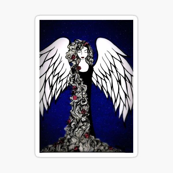Angel in Stars Sticker