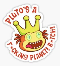 PLUTO IS A PLANET! Sticker