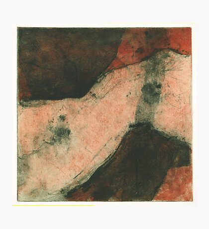 drypoint and collagraph Photographic Print