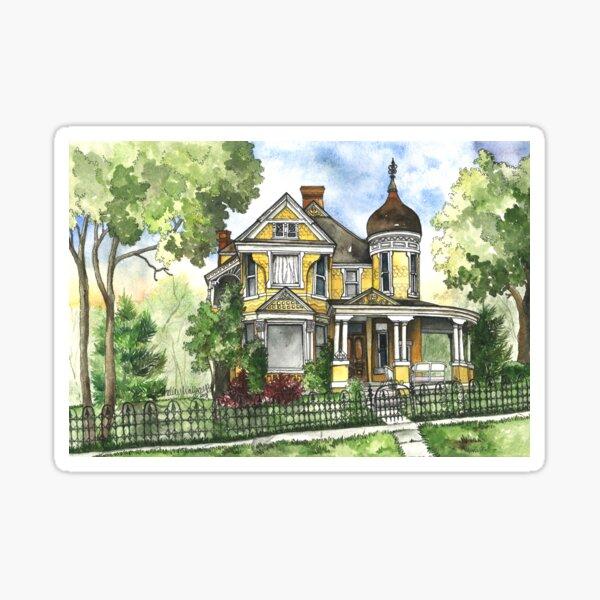 Victorian Summer Sticker