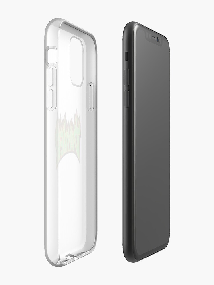 Coque iPhone «Broyeur de Noël logo Dasher», par Retrop0lis
