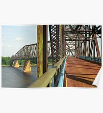 Route 66 - Chain of Rocks Bridge Poster