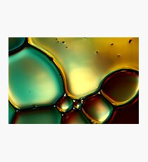 Oil & Water Abstract I Photographic Print