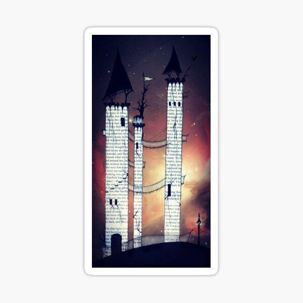 Castle in Twilight Sticker