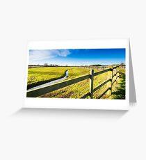 Upton Fields Greeting Card