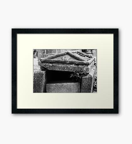 Ruined Tomb Framed Print